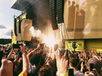 Post Malone at Leeds Festival